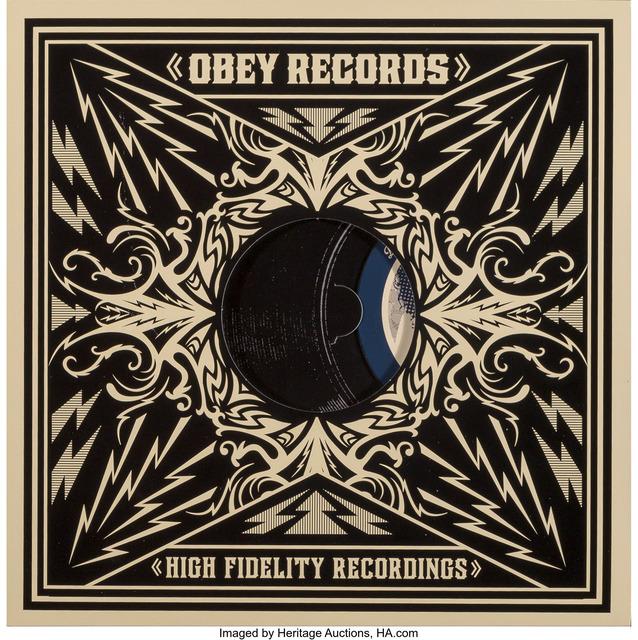 Shepard Fairey (OBEY), 'LP Box Set: Dance Floor Riot', 2011, Heritage Auctions