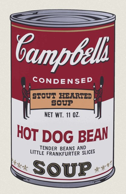 Andy Warhol, 'Hot Dog Bean, from Campbell's Soup II', 1969, Christie's