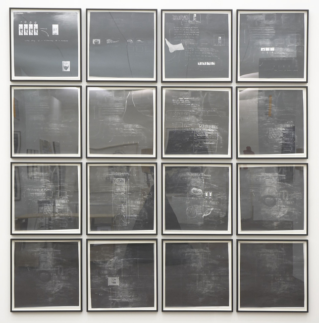, 'Sixteen Blackboards,' 1992, Frith Street Gallery