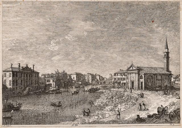 Studio of Giovanni Antonio Canal, called Il Canaletto, 'Al Dolo', c. 1742, Skinner