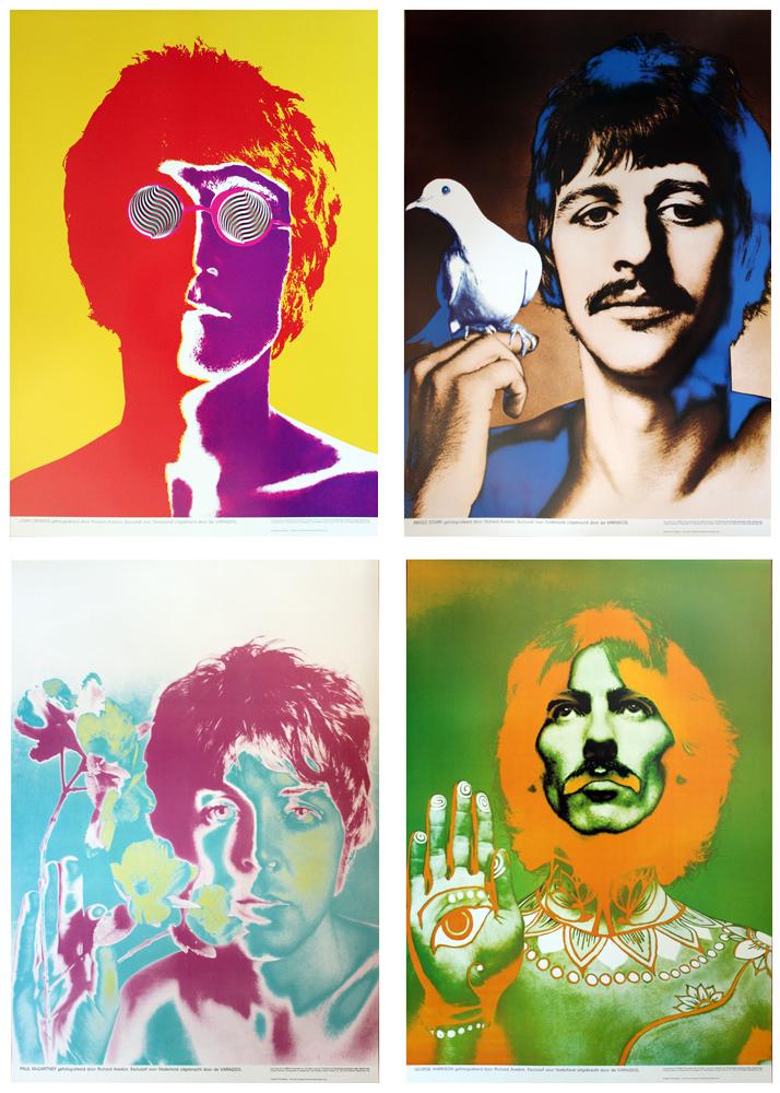Richard Avedon | Beatles Poster (set of 4) (1967 ...