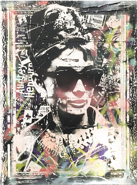 , 'Audrey Hepburn,' 2016, The McLoughlin Gallery