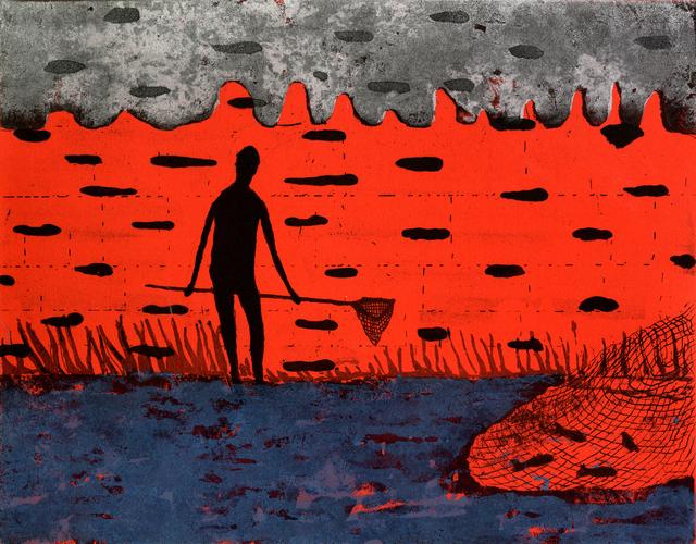 Stephen Chambers, 'Fishing behind the Net', 2001, Flowers