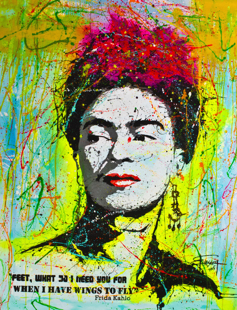 , 'Frida Kahlo,' 2015, A Sanchez Gallery