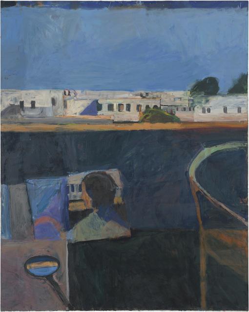 Richard Diebenkorn, 'Interior with View of Buildings', 1962, Painting, Oil on canvas, Richard Diebenkorn Foundation