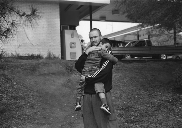 , 'Atlanta, GA (father and son by gas station),' 2007, Yancey Richardson Gallery