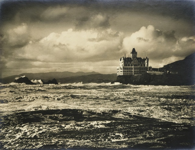 Willard Worden, 'Storm on the Ocean Beach', 1904, de Young Museum