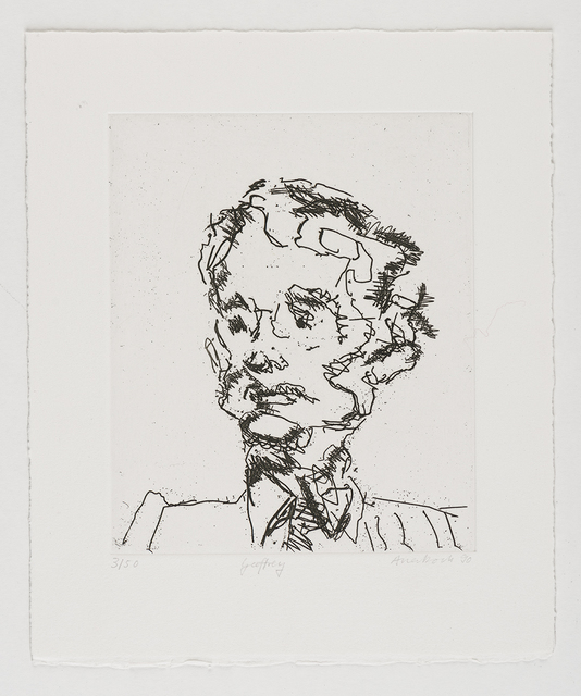 Frank Auerbach, 'Geoffrey', 1990, Marlborough Graphics