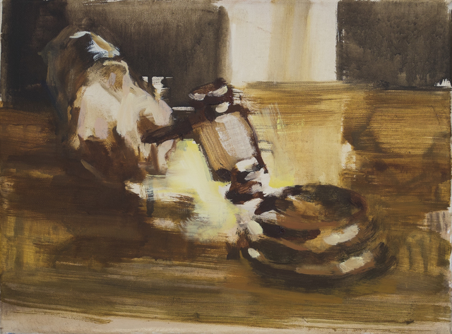 , 'Auction,' 2015, The Rooster Gallery