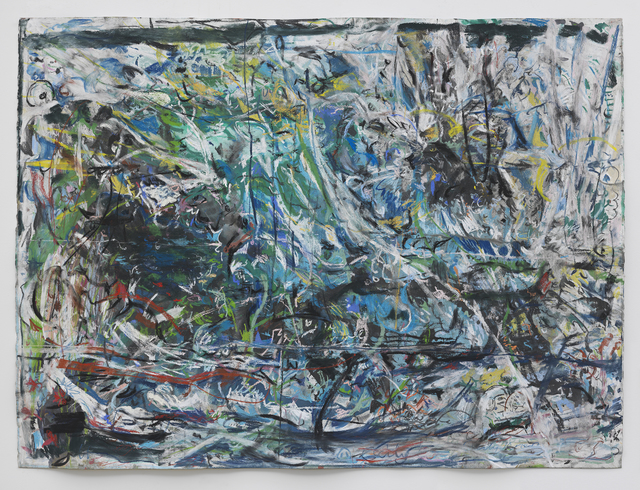 Cecily Brown, 'Untitled (Fairyland)', 2019, Drawing, Collage or other Work on Paper, Pastel & ink on paper, Children's Museum of the Arts Benefit Auction