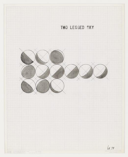 , 'Two Legged Sky,' 1979, Henrique Faria | Buenos Aires