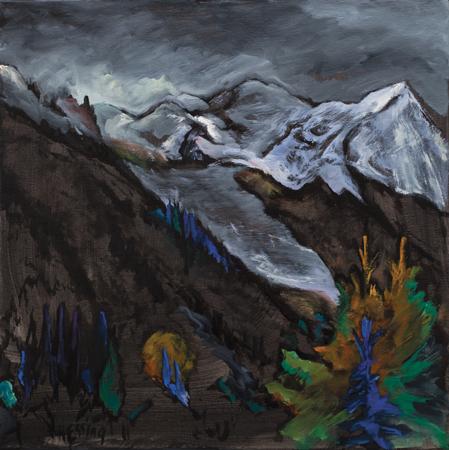 , 'The Glacier (Glacier des Bossons),' , Pucker Gallery
