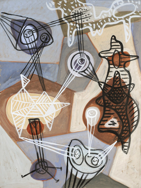 , 'The Dialogue of Circle Makers,' 1944, Leila Heller Gallery