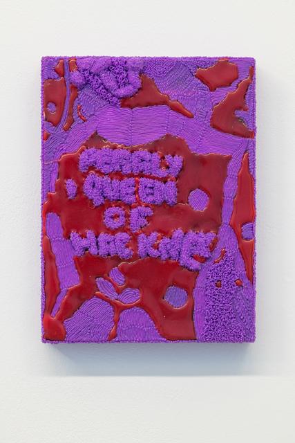 , 'Purple pearly,' 2017, Annka Kultys Gallery