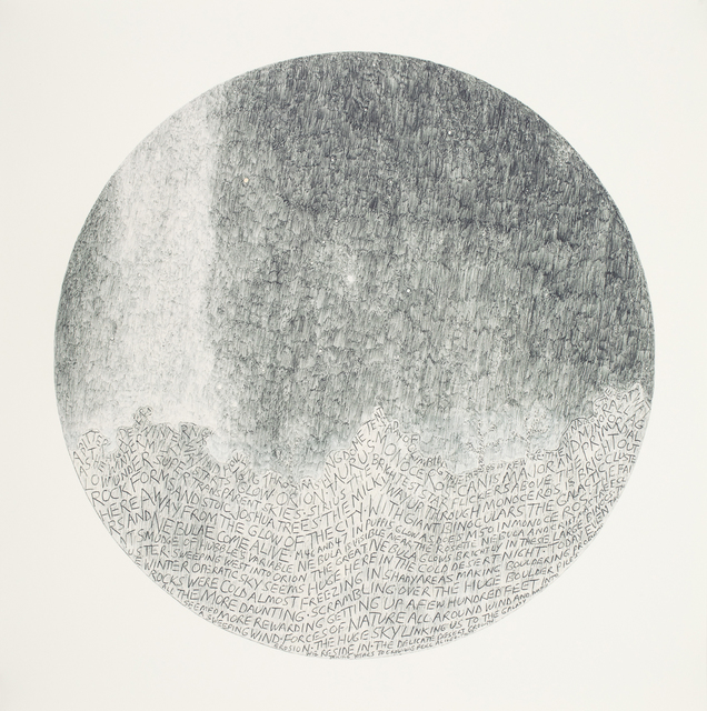 Russell Crotty, 'Four Seasons in our Galaxy', 2004, Print, Inkjet pigment and screenprint on paper, Elizabeth Leach Gallery
