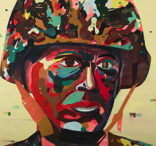, 'Psychedelic Soldier,' 2012, Collezione Maramotti