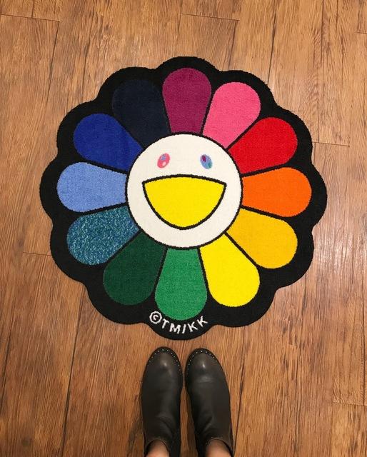 Takashi Murakami Flower Floor Mat 2019 Available For Sale Artsy