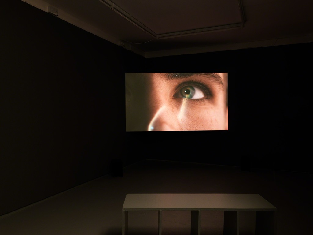 Install shot, Ilona Sagar, 'Haptic Skins of a Glass Eye', 2015, Tenderpixel. Photo by Original&theCopy. 