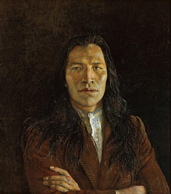 , 'Nogeeshik,' 1972, Seattle Art Museum