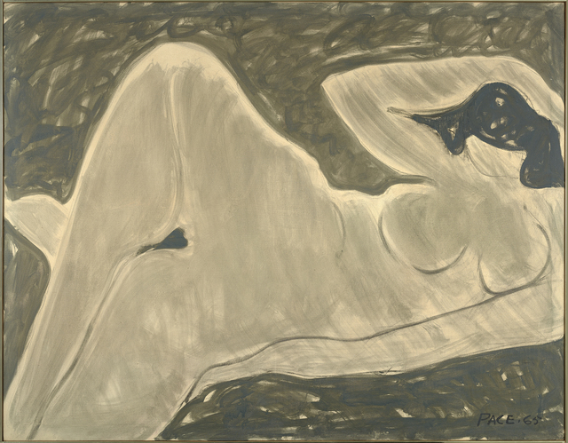 , 'Grey Nude (65-13),' 1965, Berry Campbell Gallery