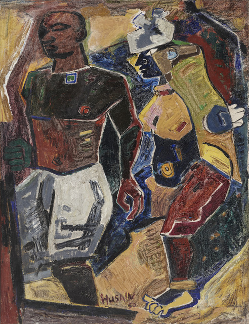 , 'Peasant Couple,' 1950, Asia Society