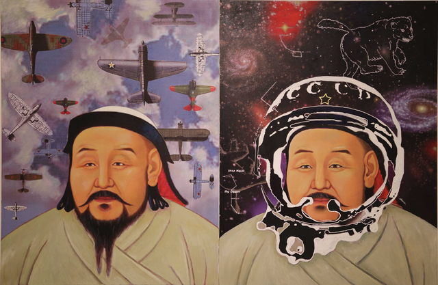 , 'Portrait of Genghis Khan,' 2013, Asia Contemporary Art Week