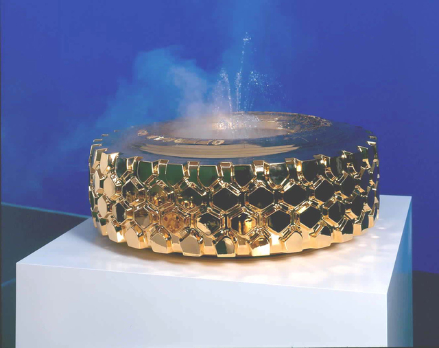 Sylvie Fleury, '(Gold) Fountain LKW', 2003, Sprüth Magers