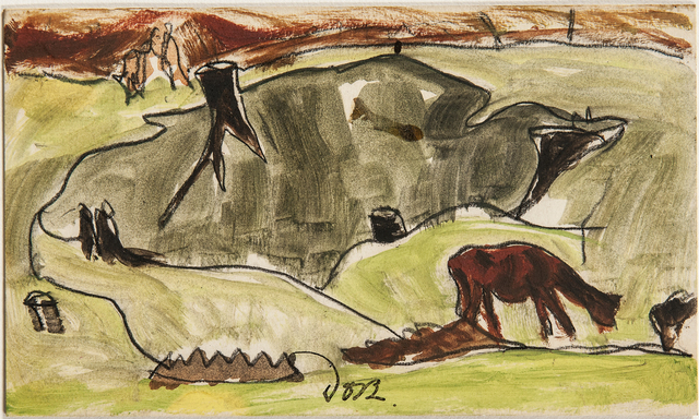 Arthur Garfield Dove, 'Cows and Stumps', 1938, Skinner