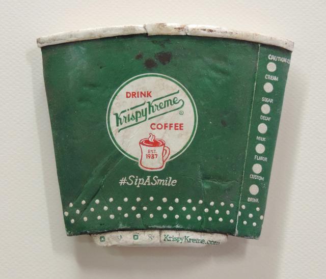 , 'Krispy Kreme Coffee,' 2019, George Billis Gallery