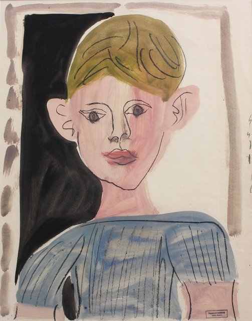 , 'Portrait of a Young Boy,' 1960-1969, Bureau of Interior Affairs