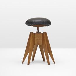 Rare drafting stool