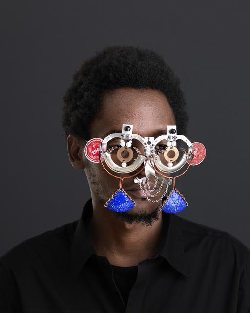 , 'Njia Ya Maisha, Macho Nne Coca-Cola Mask,' 2015, SMAC
