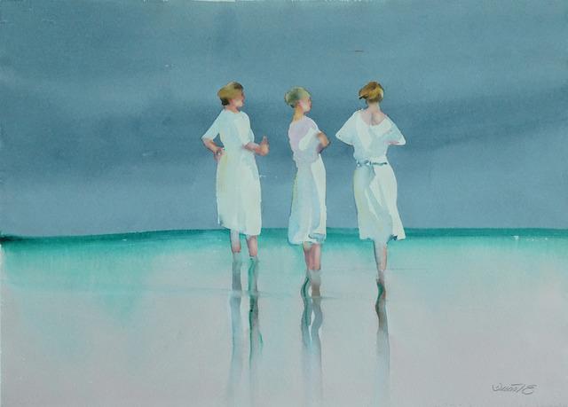 , 'Beach Scene IX,' 1980-1990, Galerie Bettina