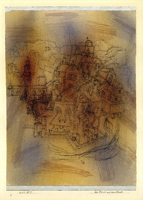 Paul Klee, 'Der Fürst und seine Stadt (The Prince and his Town)', 1925, Henze & Ketterer