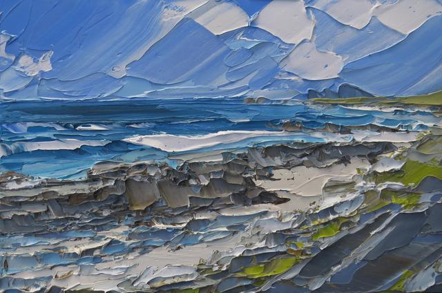 , 'Saligo, Islay,' 2017, Thackeray Gallery