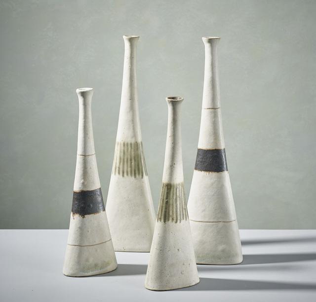 , 'Four White Bottles ,' 1990 , 18 Davies Street Gallery