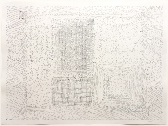 , 'Door Window Table Basket Mirror Rug #34,' 1974, David Nolan Gallery