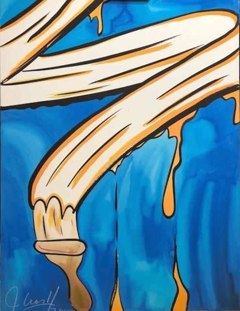 CRASH, 'Paint Brush', 2002, Fine Art Acquisitions