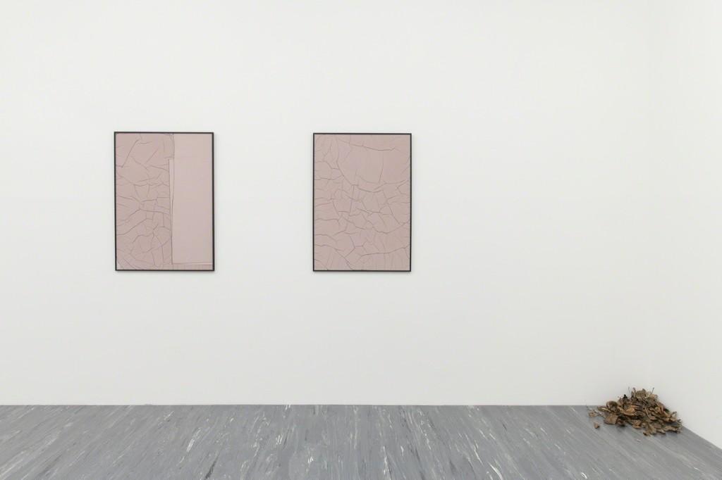 Exhibition vew: Anne Schneider − Ableger / Lessening Fold © Belvedere, Vienna