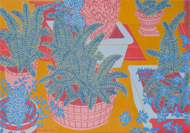 , 'The Cellar Stair (Ferns),' 2010, Tatha Gallery