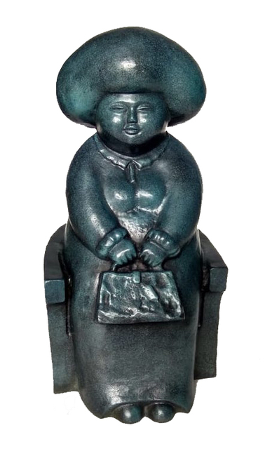 Adi Gunawan, 'My New Handbag', 2015, Sculpture, Bronze, REDSEA Gallery
