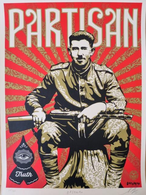 , 'Partisan,' 2013, AYNAC Gallery