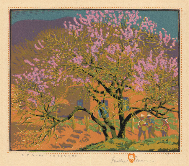 , 'Spring Serenade.,' 1927, The Old Print Shop, Inc.