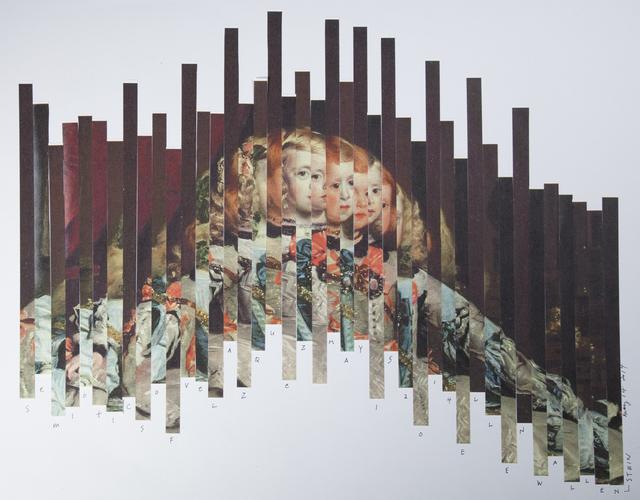 , 'Semiotics of Velazquez,' 2014, Carter Burden Gallery