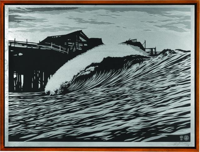 Shepard Fairey, ' P.O.P. Wave', 2016, Underdogs Gallery