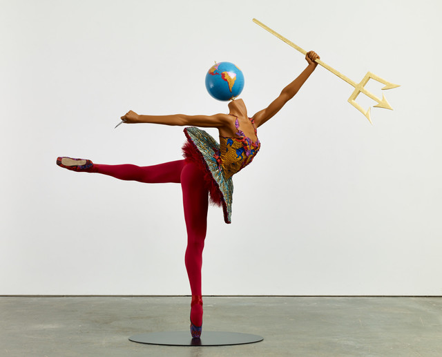 , 'Ballet God (Poseidon),' 2015, James Cohan