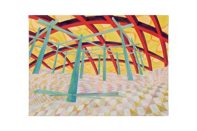, 'Particular Paradox 32,' 1999, Al Held Foundation