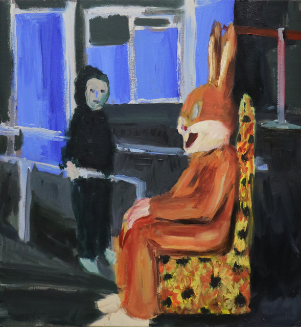 , 'Coelho [Rabbit],' 2016, Casa Triângulo