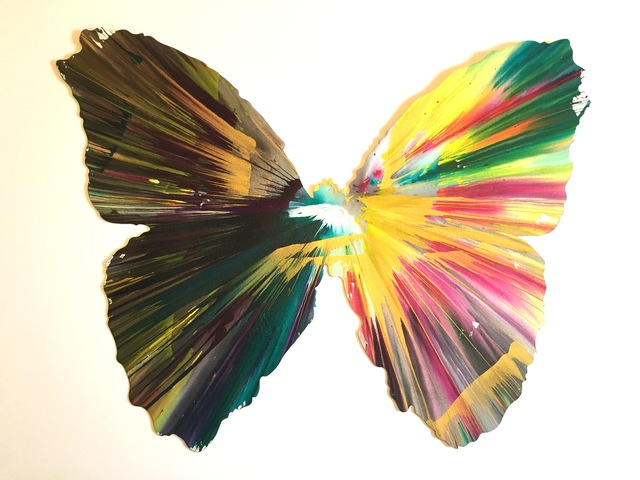 Damien Hirst, 'Spin painting (Butterfly)', 2009, Vogtle Contemporary