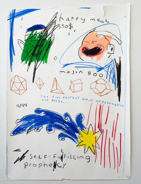 , 'Montezuma See's A Shooting Star Gets Fatalistic,' 2019, Black Book Gallery